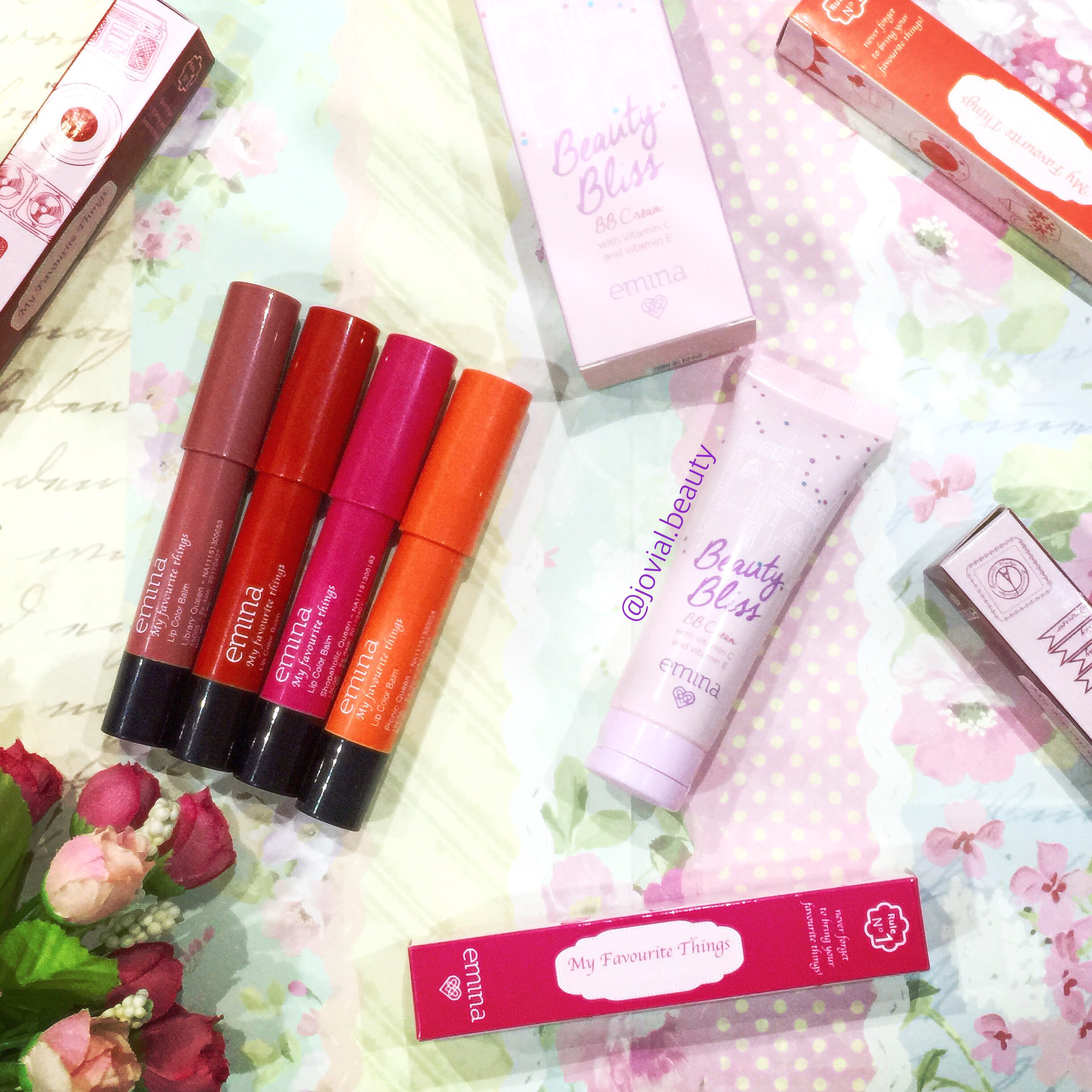 EMINA Cosmetic: Lip Color Balm