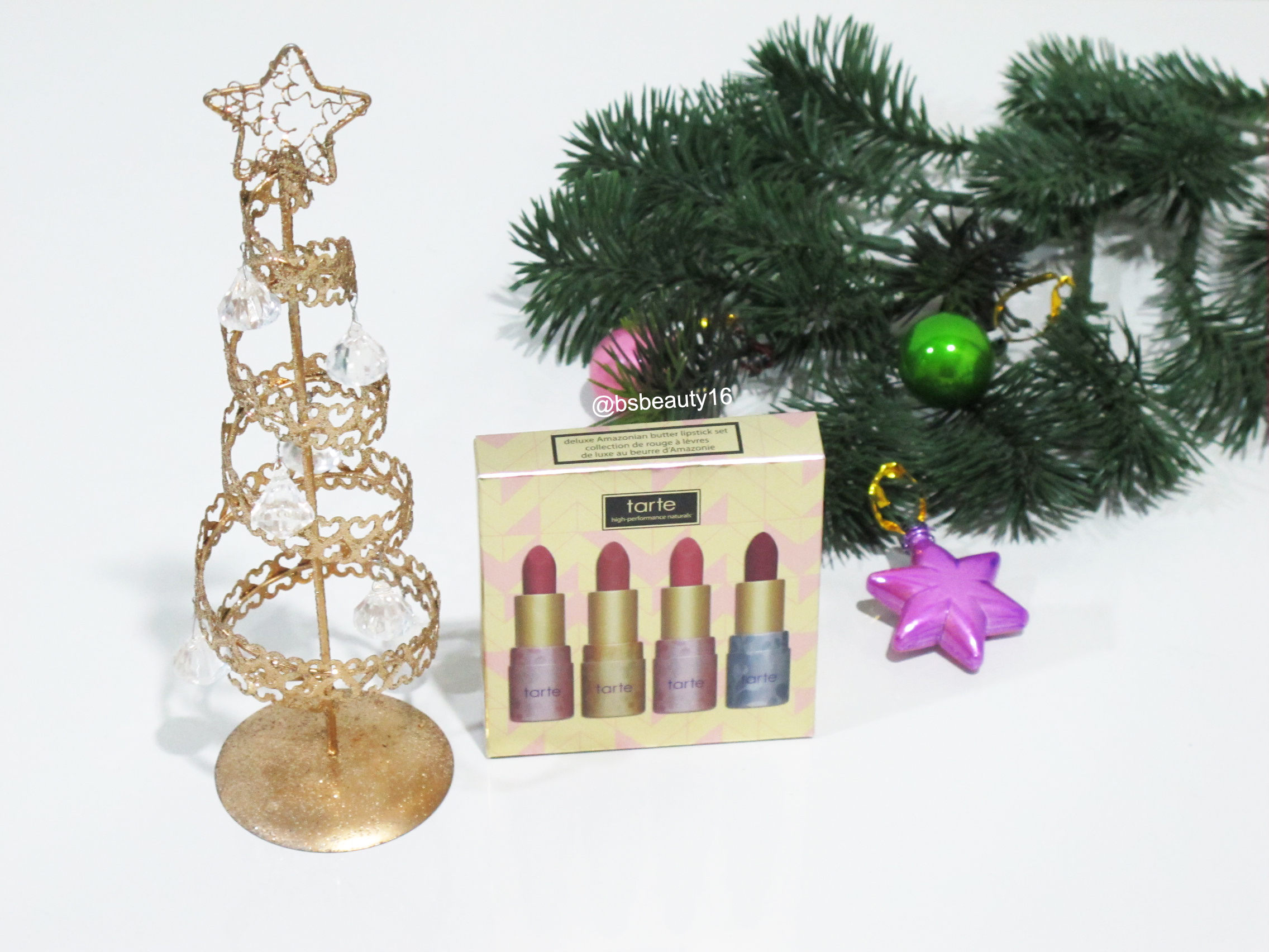 TARTE HOLIDAY COLLECTION 2015 – Deluxe Amazonian Butter Lipstick Set