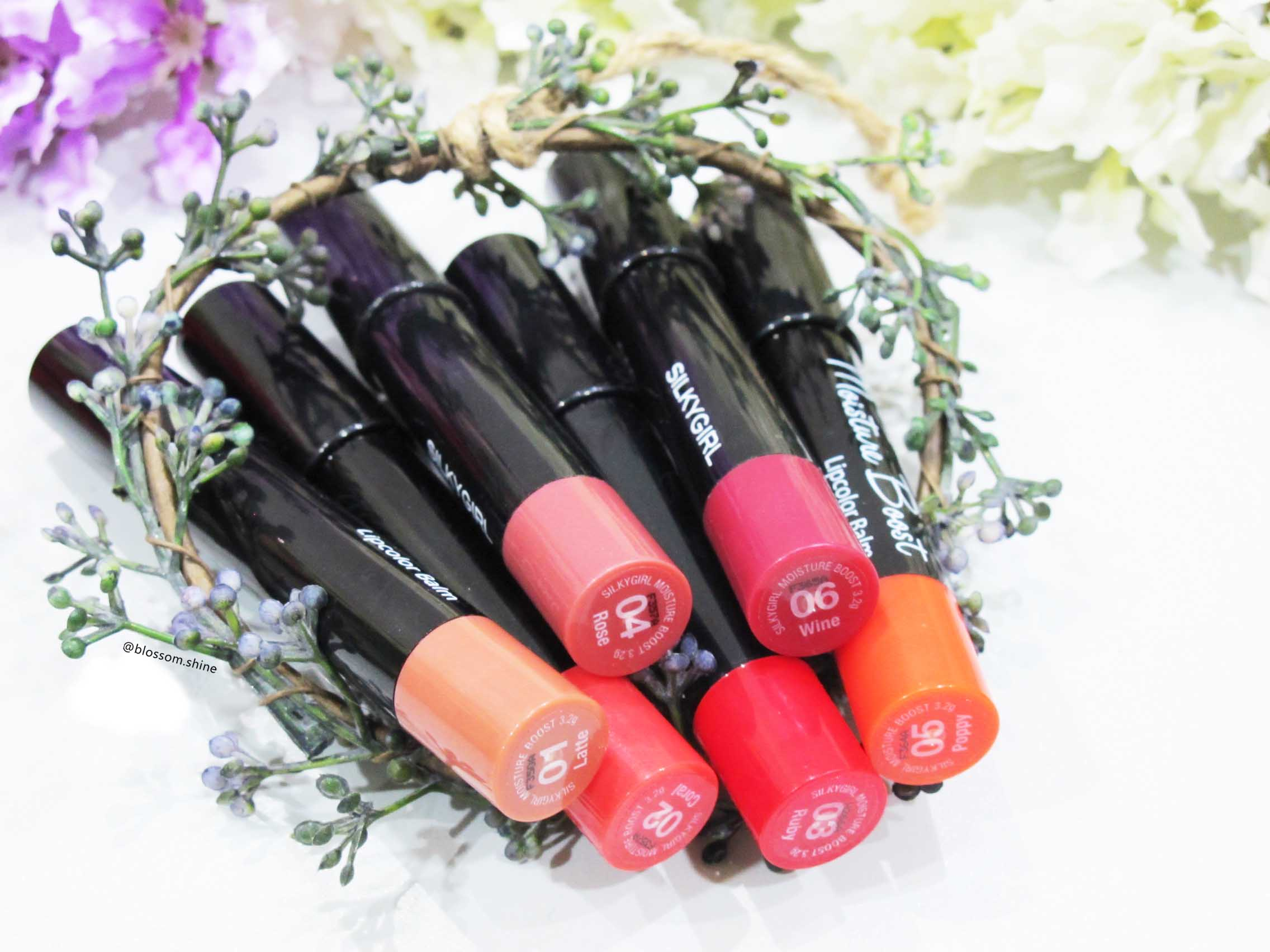 SilkyGirl Moisture Boost Lip Color Balm [MAKEUP REVIEW]