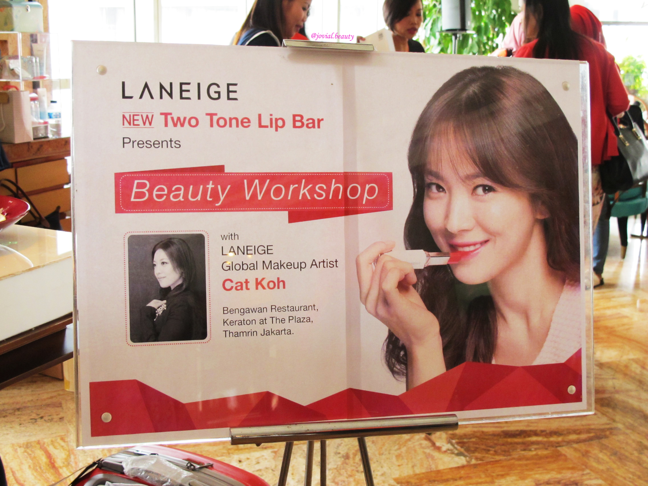 Laneige: Beauty WorkShop with Cat Koh
