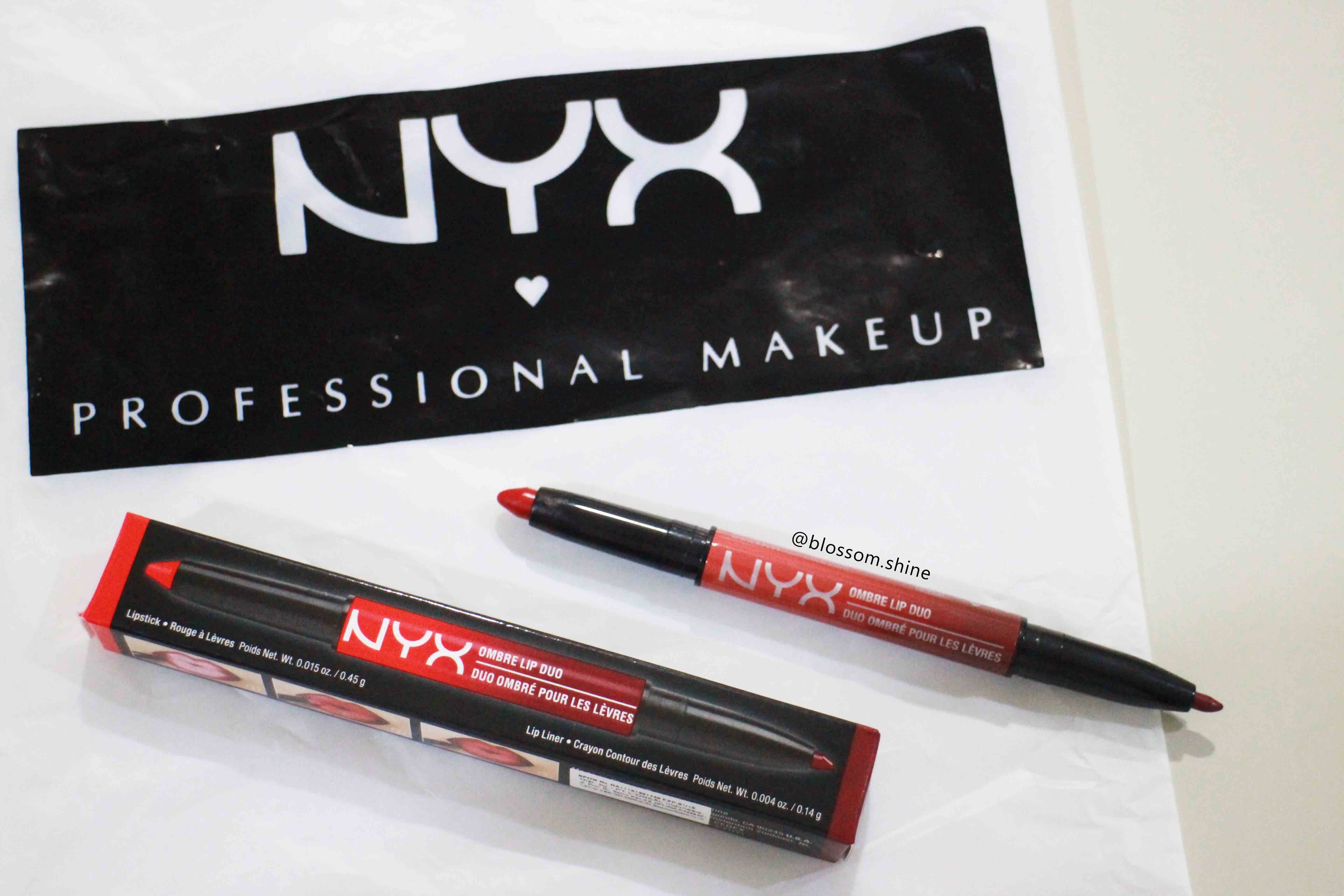 Lip Pencil – NYX Ombre Lip Duo [Makeup Review Bahasa Indonesia]