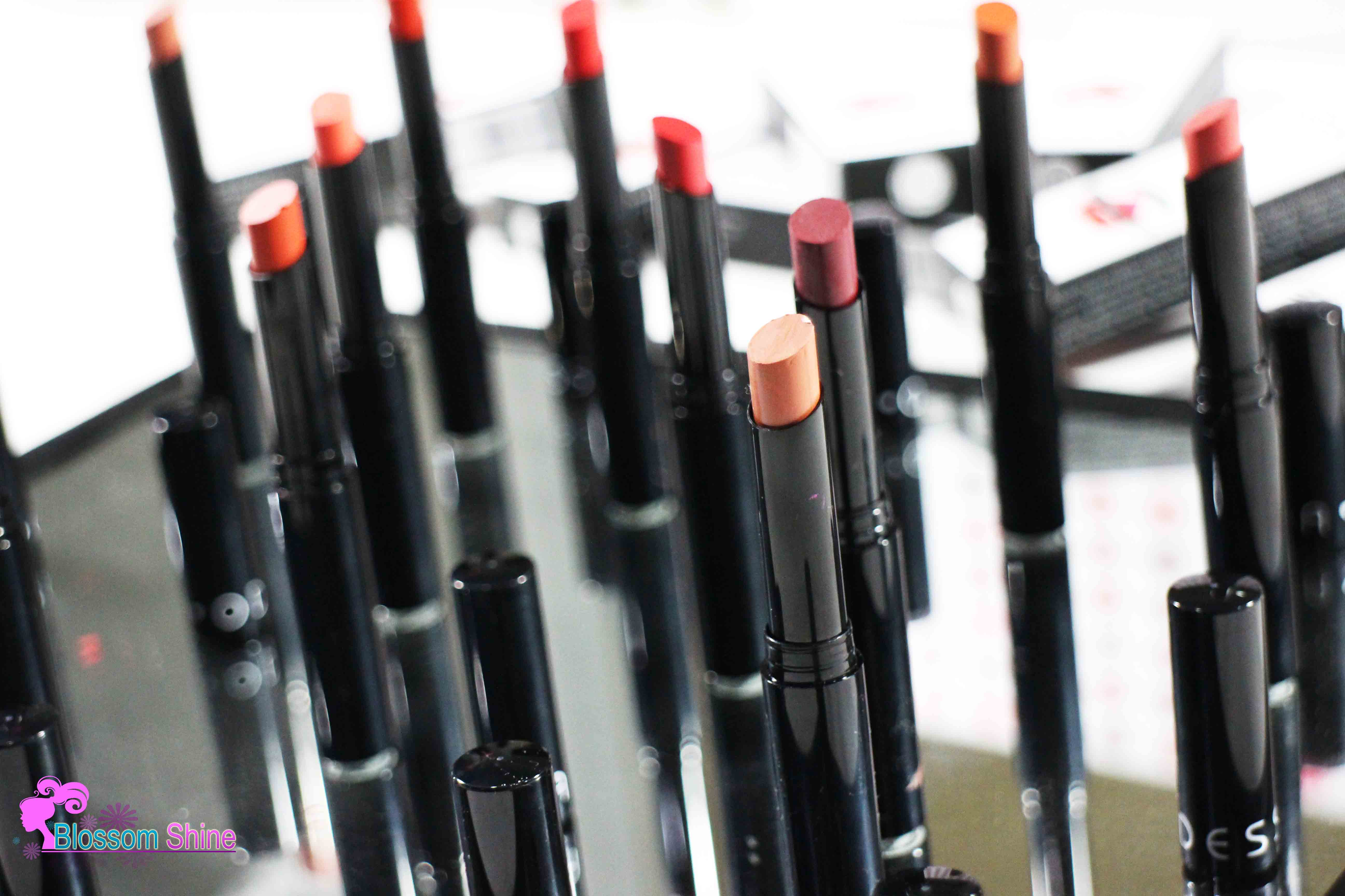12 Warna Matte Lipstick ODESSA Cosmetic