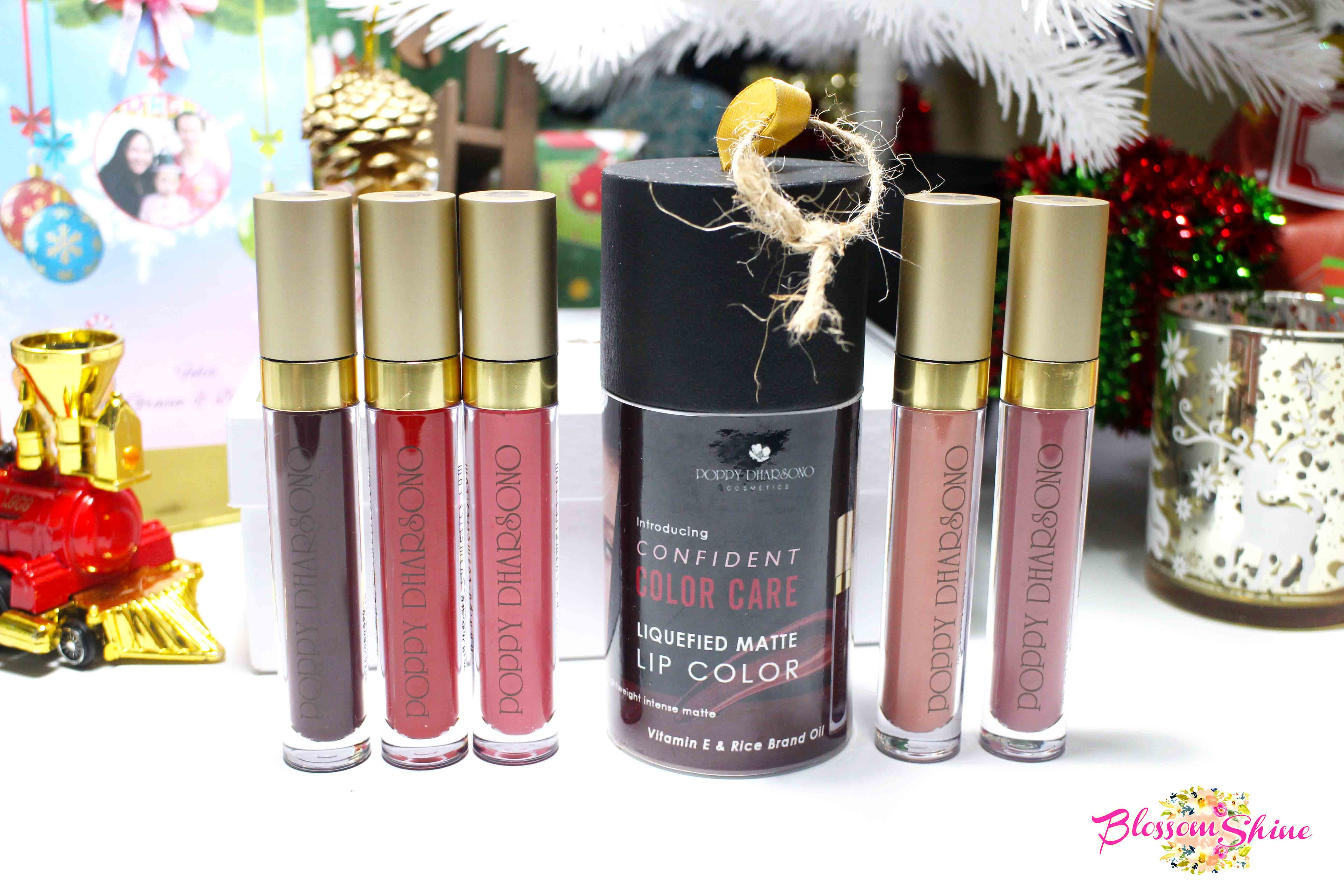 Poppy Dharsono Liquefied Matte Lip Color  (Review)