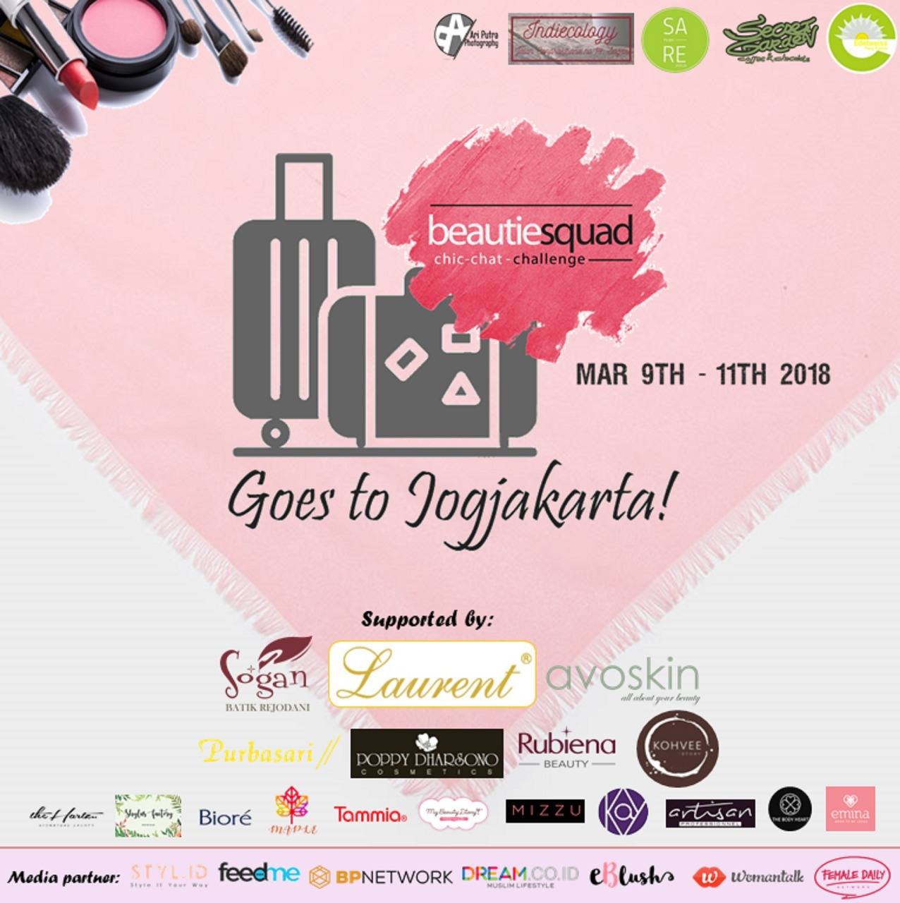 Weekend Escape – Beautiesquad Goes To Jogja !
