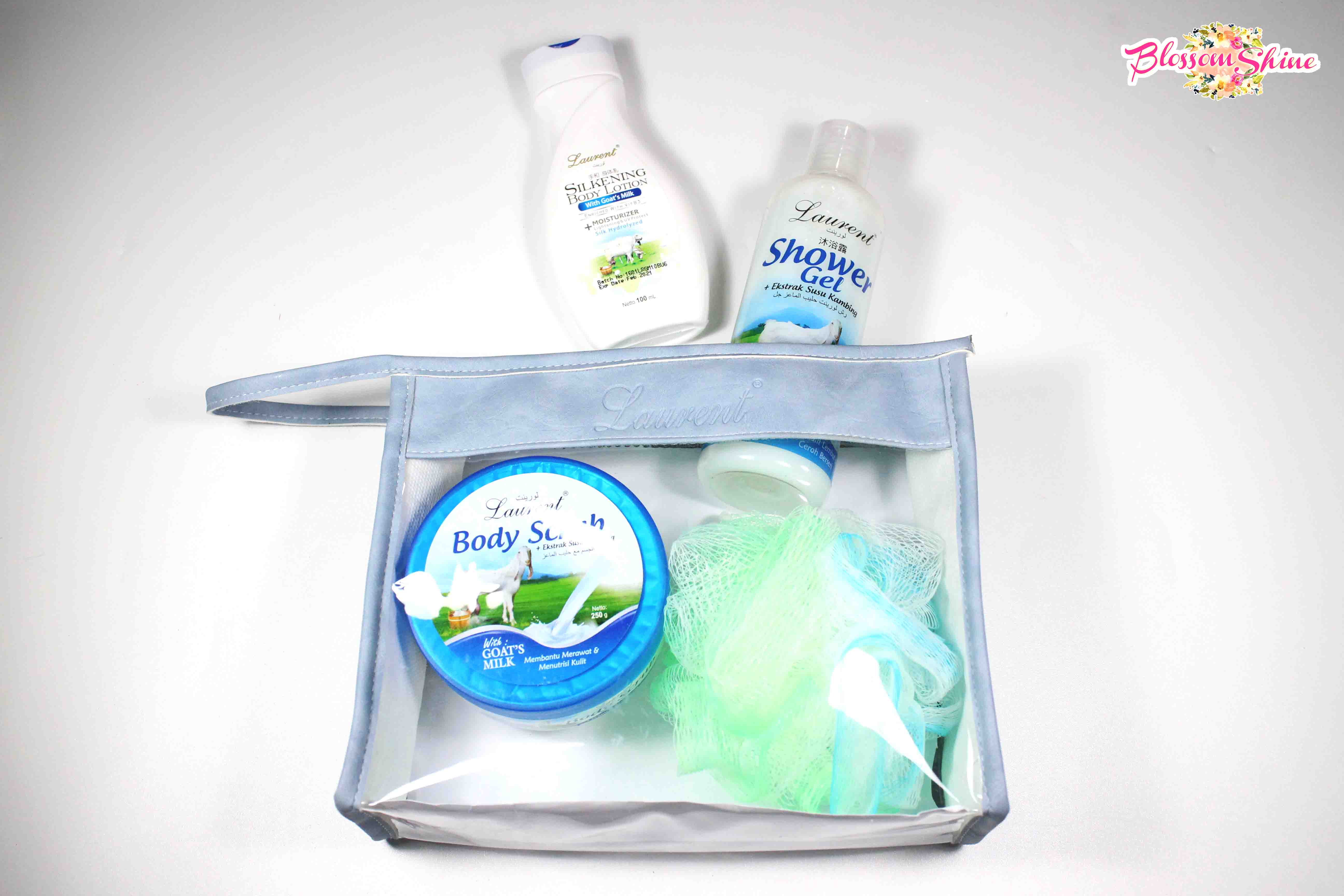 Laurent Body Care Set With Susu Kambing Review