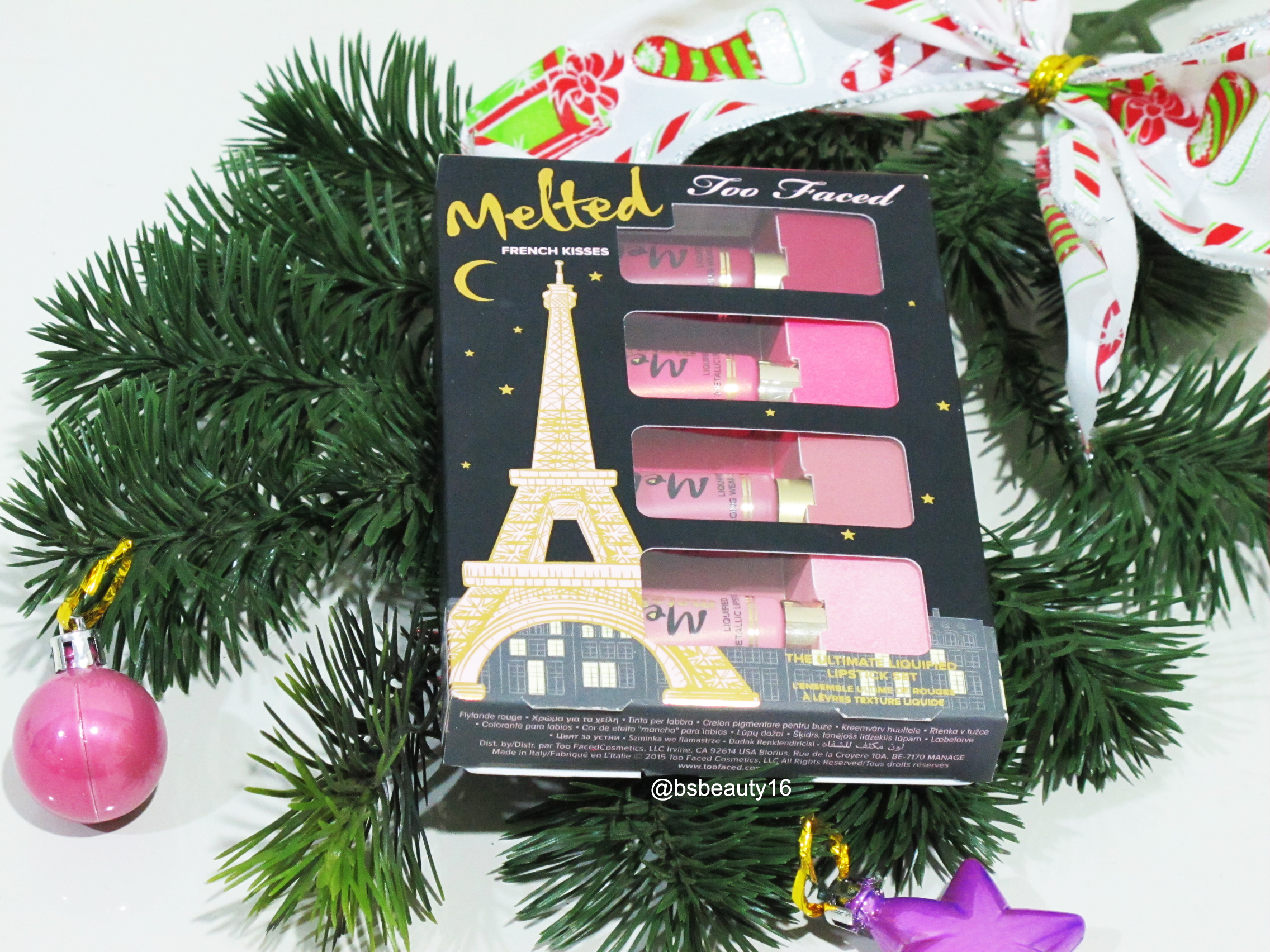 Too Faced – Melted French Kisses [MAKEUP REVIEW]