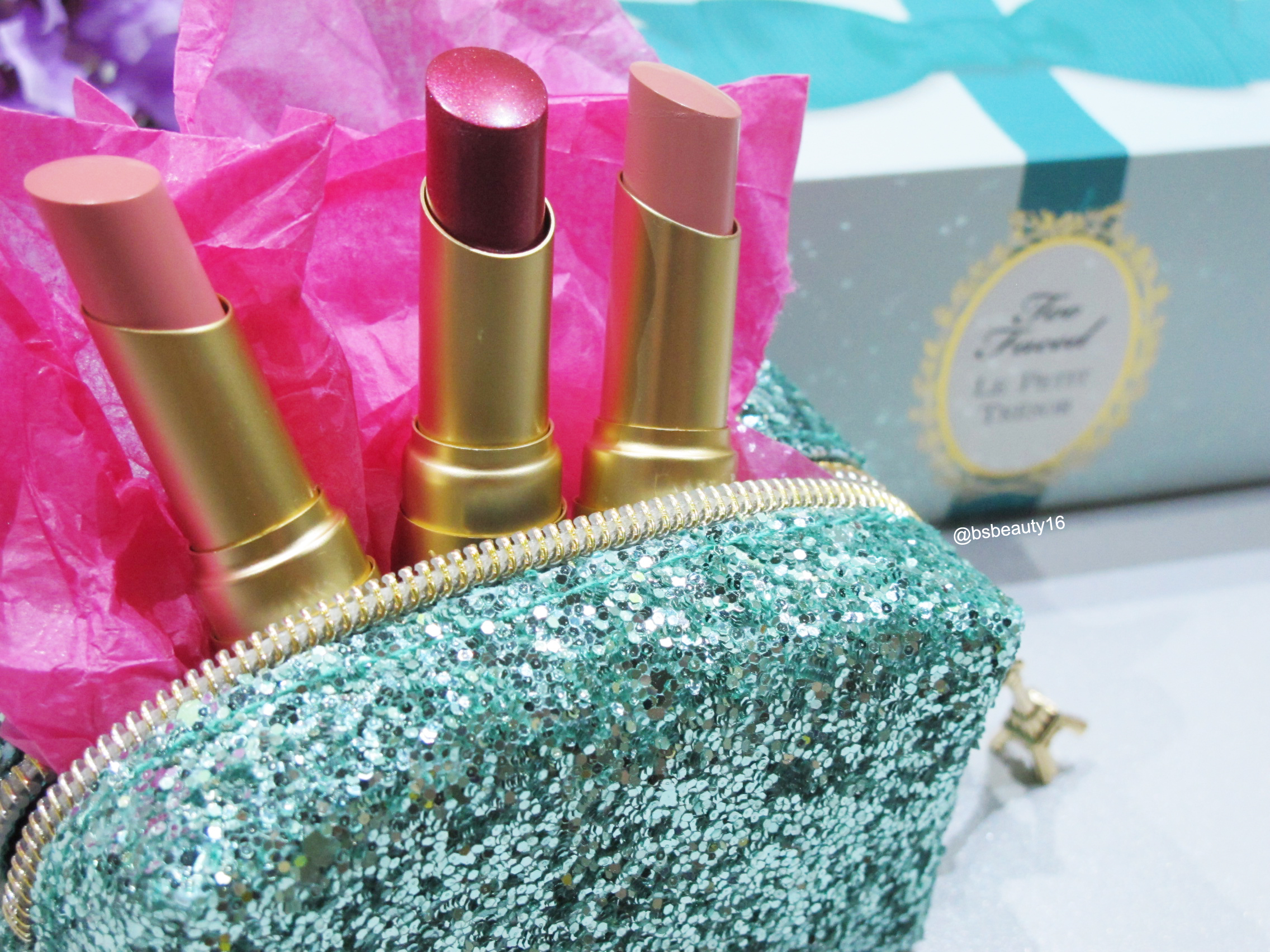 Too Faced: Le Petit Tresor [MAKEUP REVIEW]