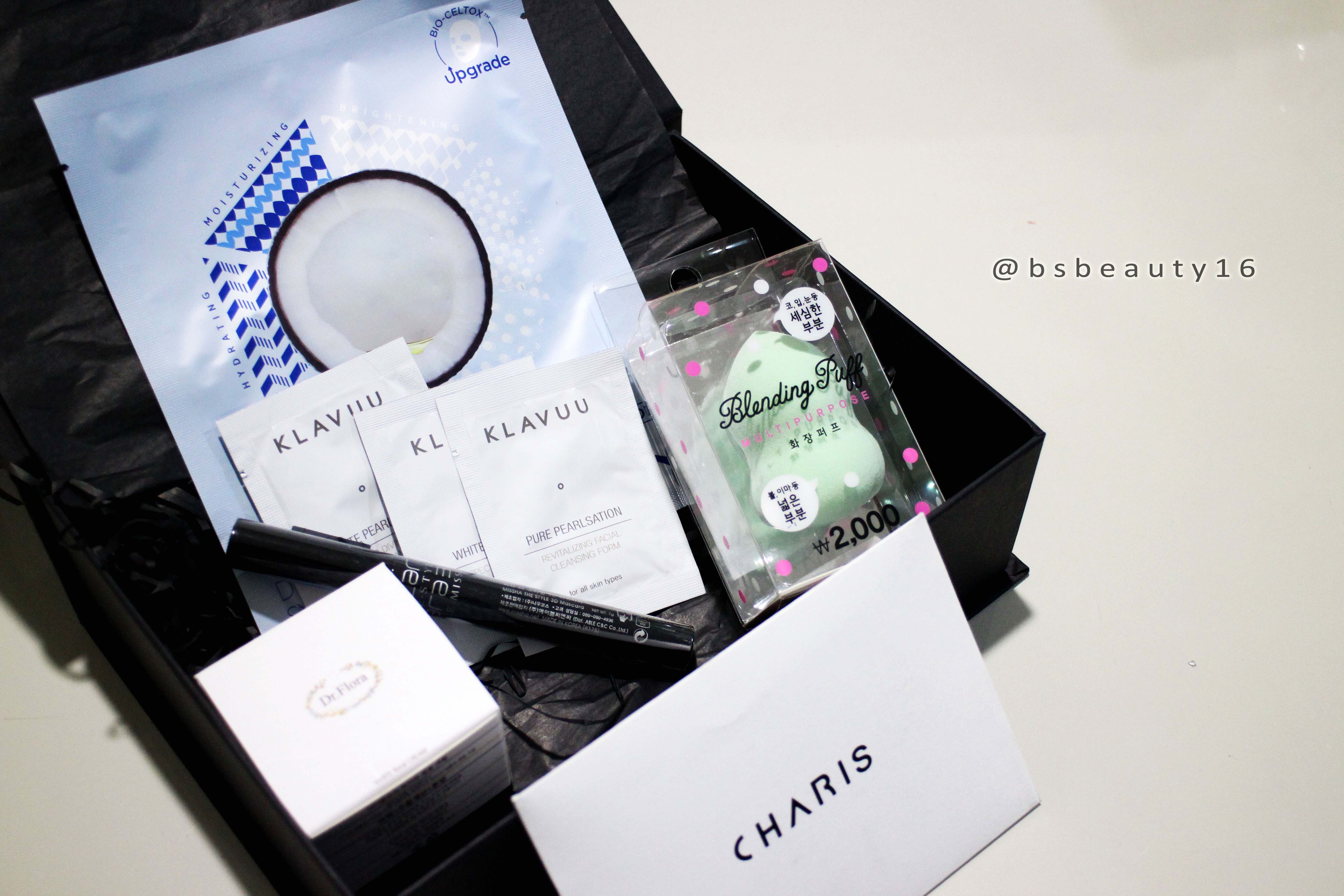 UNBOXING KOREAN BEAUTY BOX [BEAUTY REVIEW]