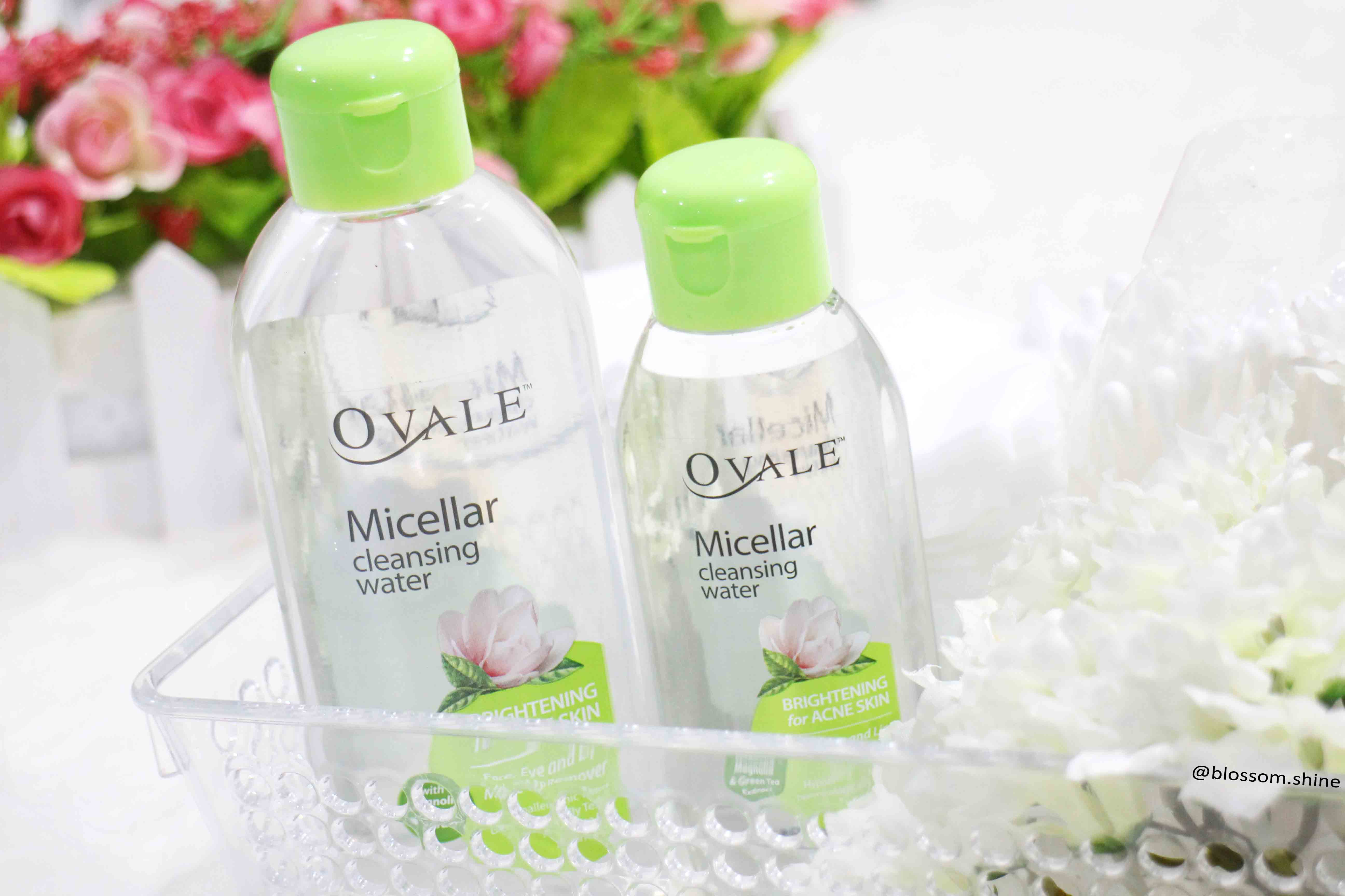 Ovale Micellar Cleansing Water [Skincare Review]