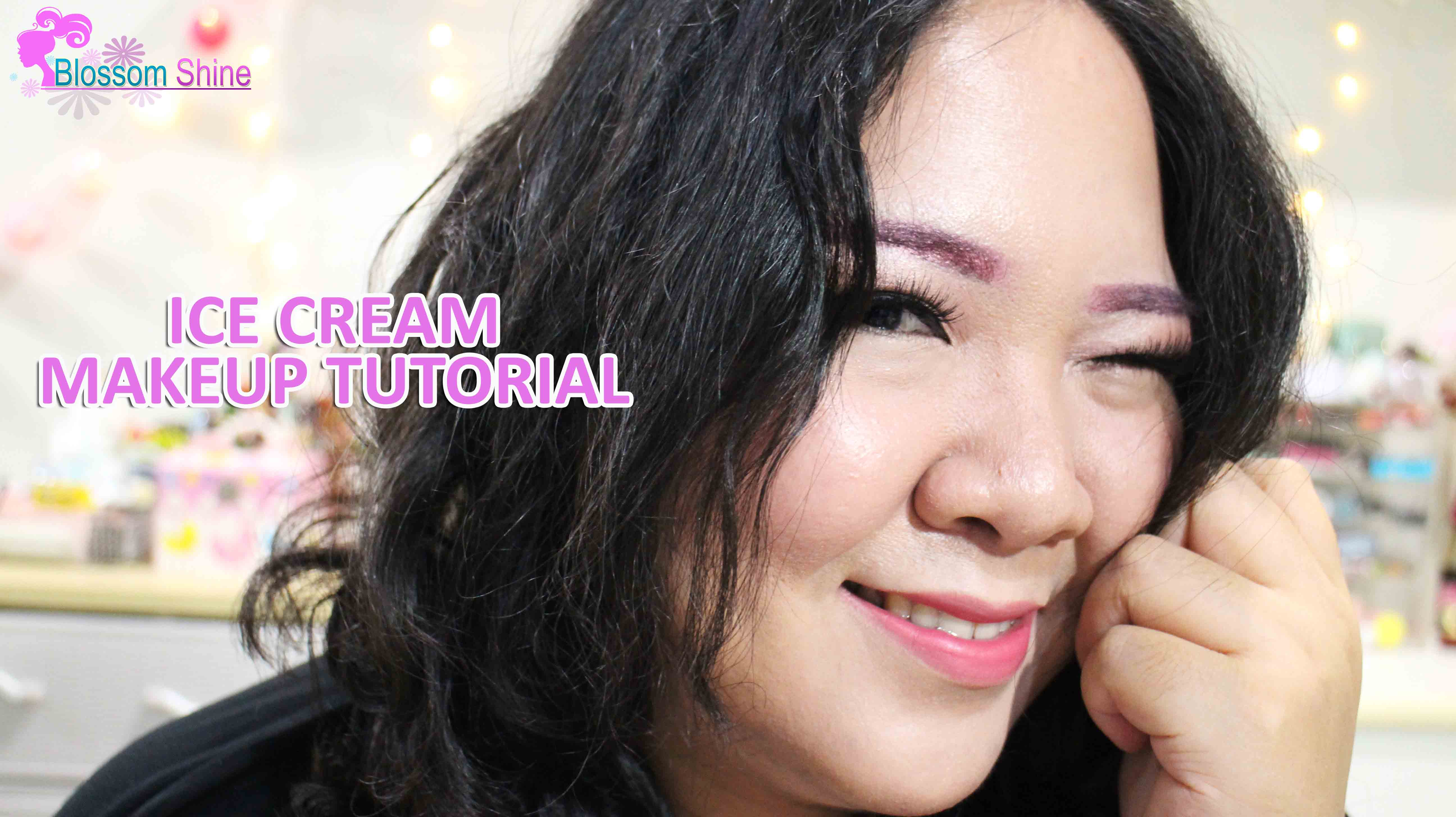 Ice Cream Makeup Tutorial [Makeup Collaboration]