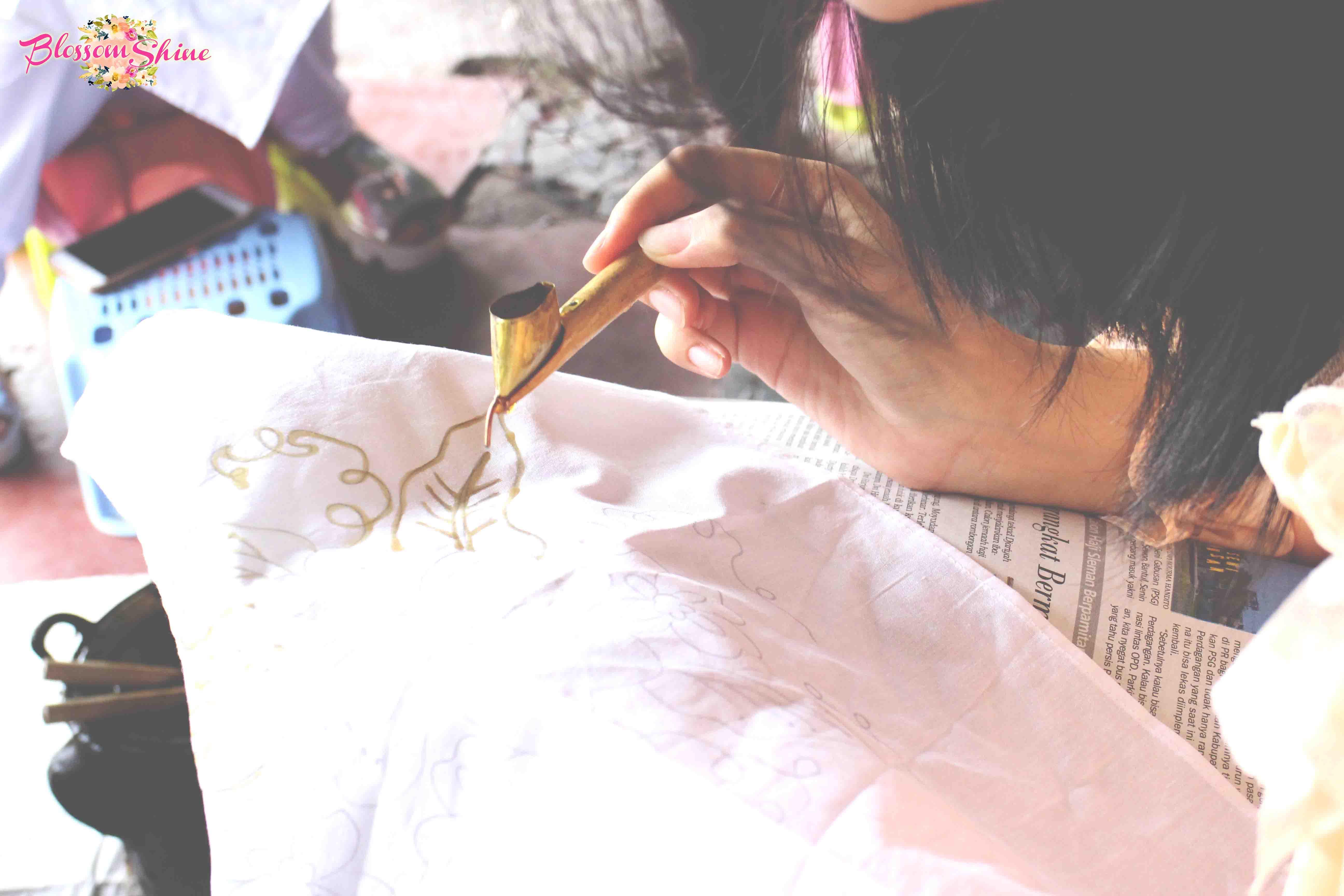 Belajar Membatik Dengan Batik Sogan Jogjakarta