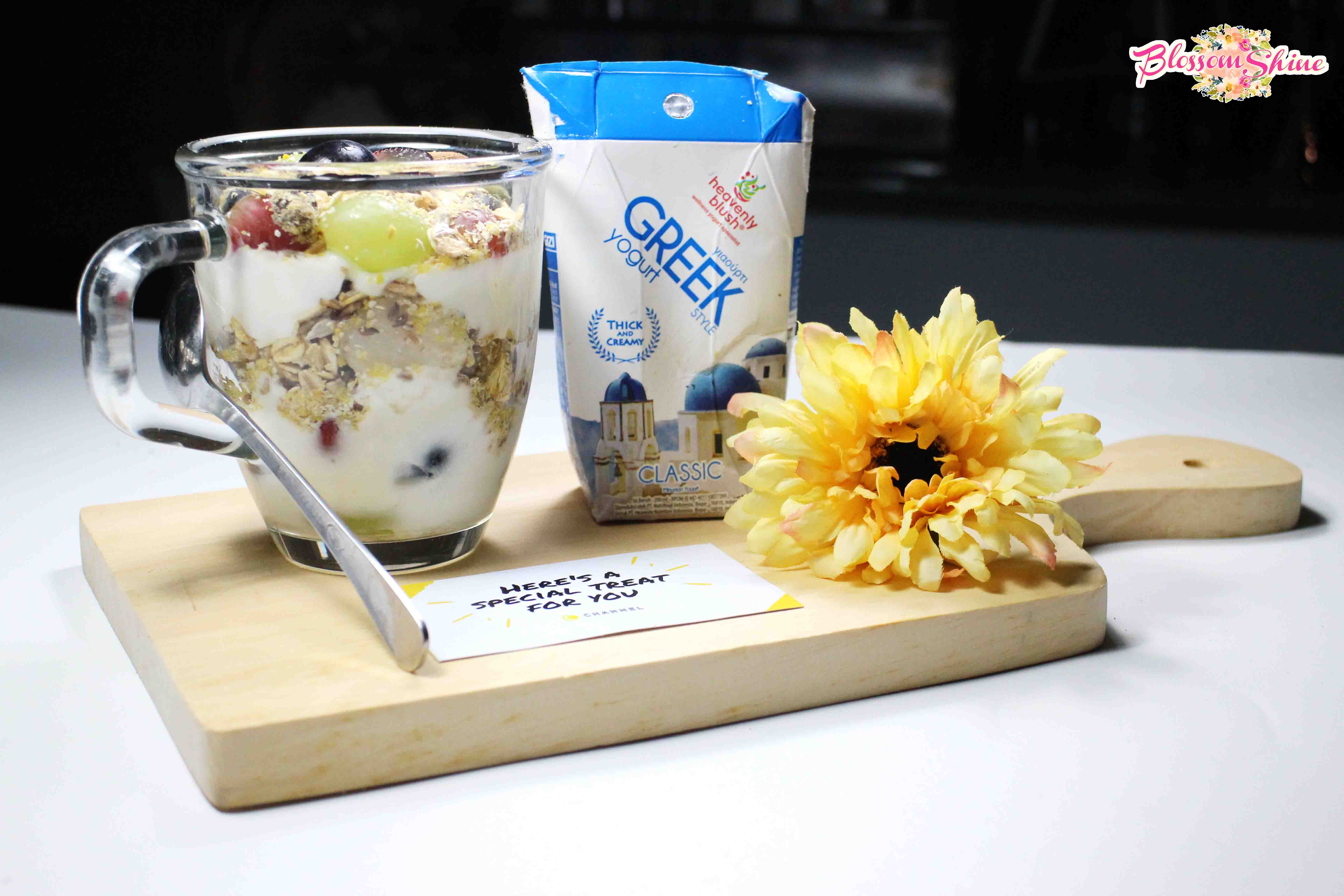 Manfaat Yogurt Untuk Kecantikan with Heavenly Blush Greek Yogurt