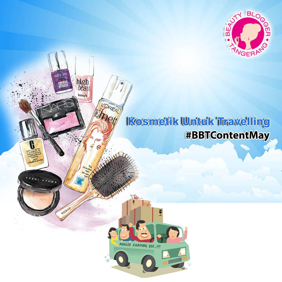Kosmetik Untuk Travelling (Skincare & Makeup)