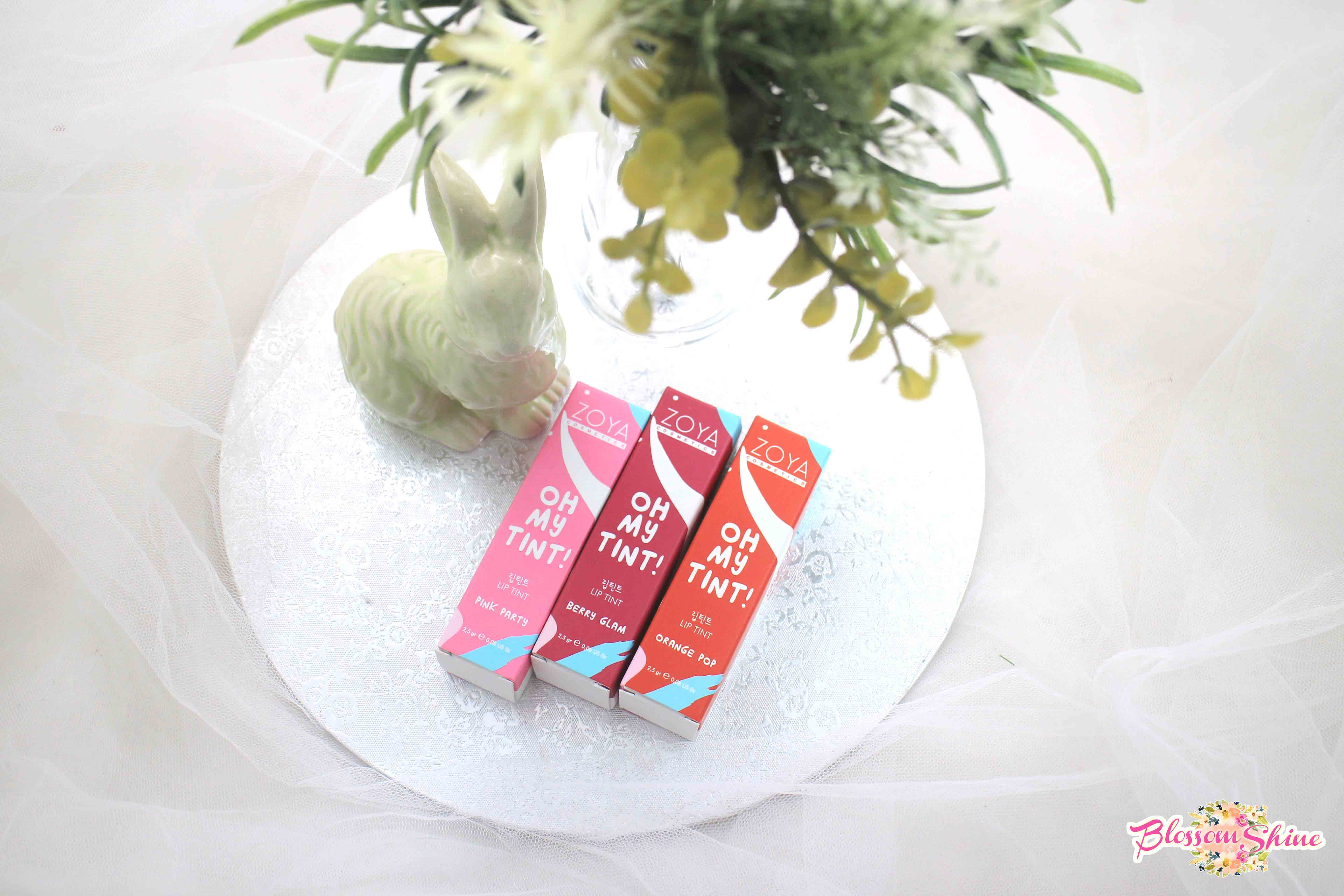 Review Oh! My Tint – Liptint Zoya Cosmetic