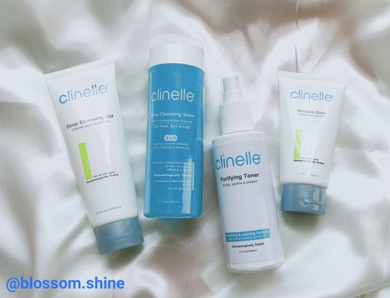 My Routine With Clinelle Essential Care